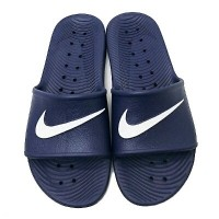 c87a920b4073 Jual Sendal Sandal Nike Kawa Shower Midnight Navy white Original murah