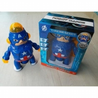 MAINAN ROBOT DANCE CAPTAIN AMERICA   DANCING ROBOT CAPTAIN AMERICA  (25469243) 2a394c2625
