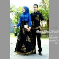Couple Brokat Prada Model Gamis Longdress Kebaya Batik Premium Mewah Glamor Brokat Import Pesta