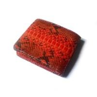 Dompet Pria Kulit Asli Ular Phyton Warna Orange ( Dompet Kulit Asli )  (15679643) 8c20805207