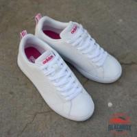 Daftar harga Sepatu Adidas Neo Advantage White List Pink Bulan ... 05e175aba9