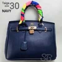 Tas Fashion Hermes Birkin Taiga Uk30 Navy Ta11530 (19577707) b350c6b44a