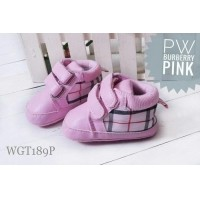 Sepatu Baby Bayi Prewalker Shoes Walker Pink Burberry Girl Import (21484430) 231a02039d