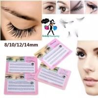 ff4d85b3092 Bulu Mata Tanam 60pcs Eyelash Extension Individual False (23176449)