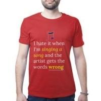 Daftar Harga Kaos Tshirt Baju Kata Kata Lucu Humor Bahasa