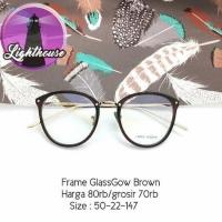 Frame Kacamata gaya fashion bisa ganti lensa minus baca cantik keren  (25423143) 86a172c1f2