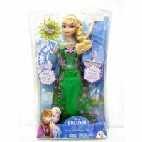 Boneka Barbie Elsa Frozen Original Mattel Disney Frozen Fever Singing Elsa  (25446450) 37c9d6cba6