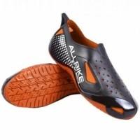 Super Murah! IBS Sepatu Motor Biker ALL BIKE Orange Karet ALLBIKE Hitam  Orange AP BOOTS ca2b788108