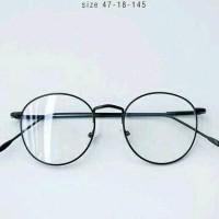 frame kacamata besi bulat kacamata fashion kacamata murah frame kacamata  vintage kacamata pria dan wanita frame 88768cfdbd
