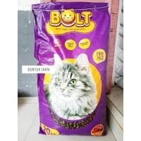Daftar Harga Bolt 20kg Cat Food Makanan Kucing Bentuk Ikan Bulan