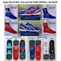 ASICS TIGER Sepatu Tennis Tenis Nike Adidas Babolat New Balance Reebok  Yonex ORIGINAL NAVY (25835024 51e88ae308