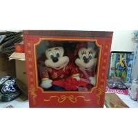 Boneka ori disney mickey minnie mouse ceongsam chinese version (25812330) 3d1f339d82