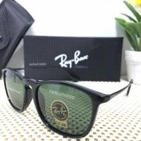 e7ab2e025481e Kacamata Rayban Chris Black Doff Lensa Kaca   sunglasse (25914276)
