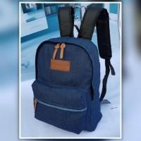 tas ransel jeans hitam tas sekolah jansport pria wanita murah grosir  (25932055) d3cd7b365f