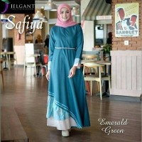 Daftar harga Pusat Grosir Baju Dress Safiya Flower Katun Jeans Bulan ... fe6083f4c3