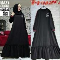 AD ราคา Gucci Maxi    Baju Gamis    Dress Wanita (26369445) 52f789c301