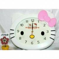 Daftar harga Original Jam Dinding Karakter Kepala Hello Kitty Bulan ... dacca07b51