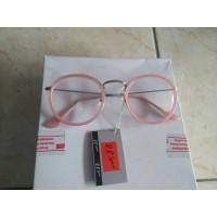 Daftar harga Kacamata Fashion Bulat Oval Pink Trendy Ye903 Bulan ... 60cb1696be