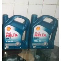 Oli Shell HX7 SAE 10w 40 Galon 4 Liter 26768879