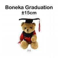 Boneka Graduation M - Boneka Wisuda - Hadiah Wisuda - Gift - Kado (27355437) 5484996413