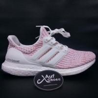 1a7d6cd08 Adidas ultra boost 4.0 candy cane white pink BB6169 - Putih