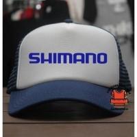 JersiClothing  Topi Trucker Shimano - Navy Putih (16751317) 531e72871c