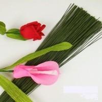 Kawat Hijau No.16 - Batang Bunga - Wire - Tangkai Bunga - Barang Florist 3e4ab94563
