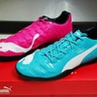 NEW Sepatu Futsal Puma Evopower Tricks Blue Pink Murah (27631128) 6570536045