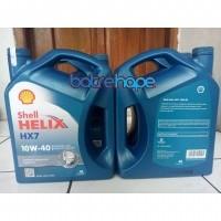 AD Oli Mobil Oil Shell Helix Hx7 SAE 10w 40 10W 10W40 Kemasan Galon