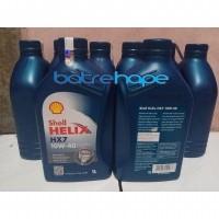 Oli Mobil Shell Helix H7 SAE 10W40 Oil HX7 10W 40 Kemasan Liter