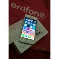 ORiGiNAL Apple iphone 5S Silver White 16GB ex GARANSI RESMI TAM erajaya  Muluzh (27686628) 849f1a4ab6