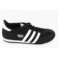 sepatu adidas dragon - hitam list putih   sepatu sneakers adidas (24228524) 4b644e76bb