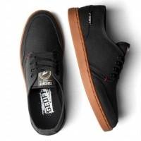 Sepatu Kets Original Geoff Max Authentic Black Gum - Hi (27410238) 932eb09065