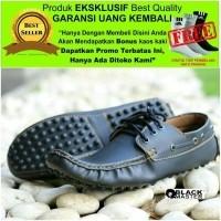 Best Deal Sepatu Pria Premium Mcassin Kulit Asli Original Blackmaster Prada  (25256111) 5e2af22ed3