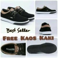 Daftar harga Sepatu Nike Casual Tali Sneaker Sekolah Pria Kets Hitam ... e26030597e