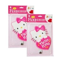 harga Meilyngiftshop Adhesive Hook Decor Room Hello Kitty [2 pcs] Meilyn Gift Shop