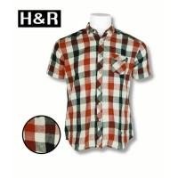 h r - flanel motif kotak merah – 901pn - merah m by H R Official Store ( 1336d68511