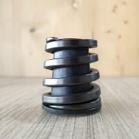 RockBros Titanium Rear Coil Spring Suspension Shock Shox for Brompton Rainbow