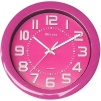 OnTime Jam Dinding Fresh Colour Pink 767-17 Pink (CNS-327873) 83f2d9f559