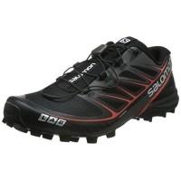 Salomon S-Lab Speed Running Shoe - Men s Black Black Racing Red 9 72cec80147