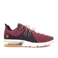 NIKE Air Max Sequent 3 - Red Crush Wheat Gold-Blackened Blue  US 7c9cbdded4
