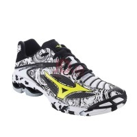 MIZUNO WAVE LIGHTNING Z3 - BLACK   WHITE   SAFETY YELLOW (SHADOW CO  40 f243182f94