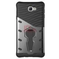 Smatton Case Hp Samsung Galaxy J7 Prime Armor Shockproof Hybrid Hard Soft Silicone 360 Degree
