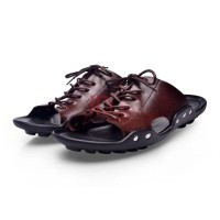 AVANTU Sepatu sandal kulit sapi prima model baru 2018 Brown EUR 39  (501044397) 146ca9fbb4