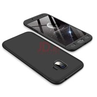 Santac Samsung Galaxy J7 Prime Case Tempered Glass 360 Degree Ultra Thin Full Cover