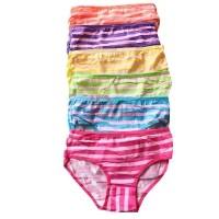 Aily 6031 Celana Dalam Wanita Katun Motif Salur Polka Ribbon (6 pcs ) -  Multicolor c641fc8475