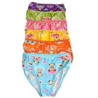 Aily 8110 Celana Dalam Wanita Katun Motif Teddy Bear (6 pcs ) - Multicolor  ALLSIZE 1eb5ea8908