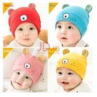 Moms And Kids - Topi Kupluk Bayi Gemes Dan Lucu - Topi Kupluk Anak Imut Blue 97d6782228