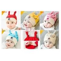 Moms And Kids - Topi Kupluk Bayi Lucu - Topi Kupluk Anak Imut BIRU 6- d1f4232071