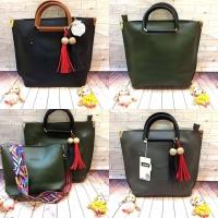9e14243ada4 Jual 81 HK Import Mirror Quality Cco Gucci Hitam Hijau Abuh . Tote Bag Tas  KW1